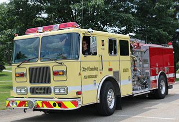 station 1 fire truck
