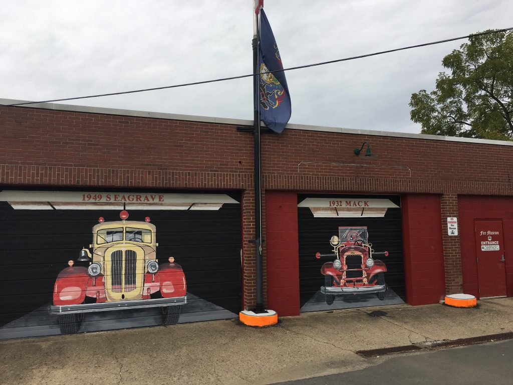 Front of GVFD Museum